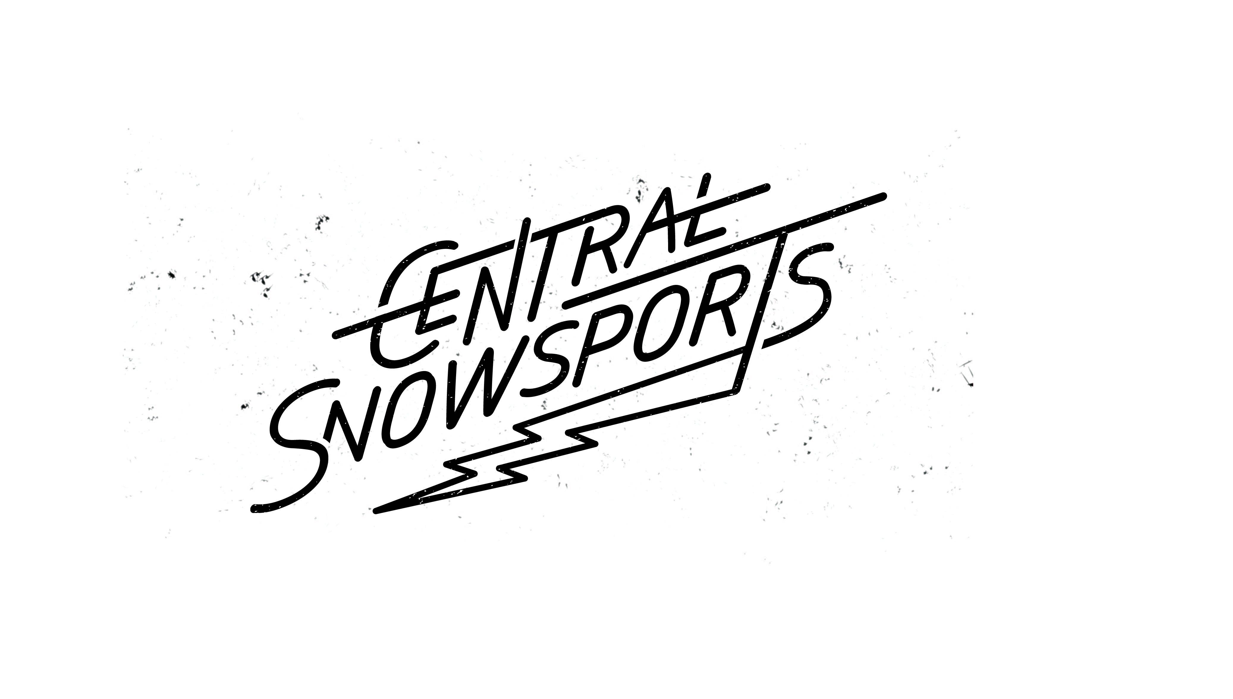 Central Snow sports graphic desinger