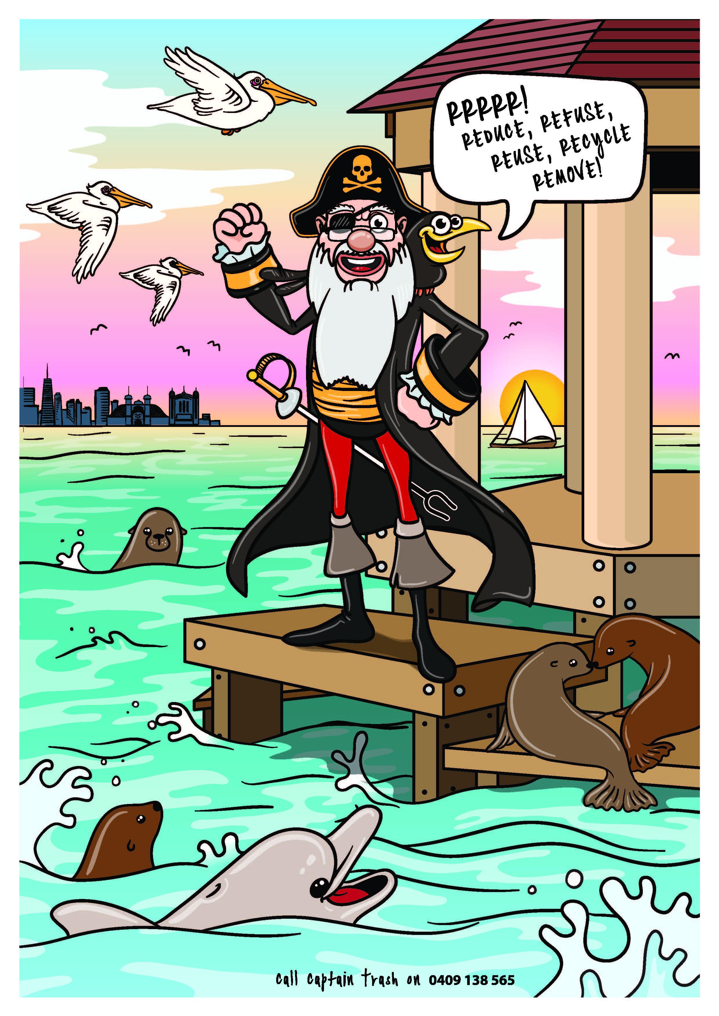 Captain Trash - The Bay Keeper