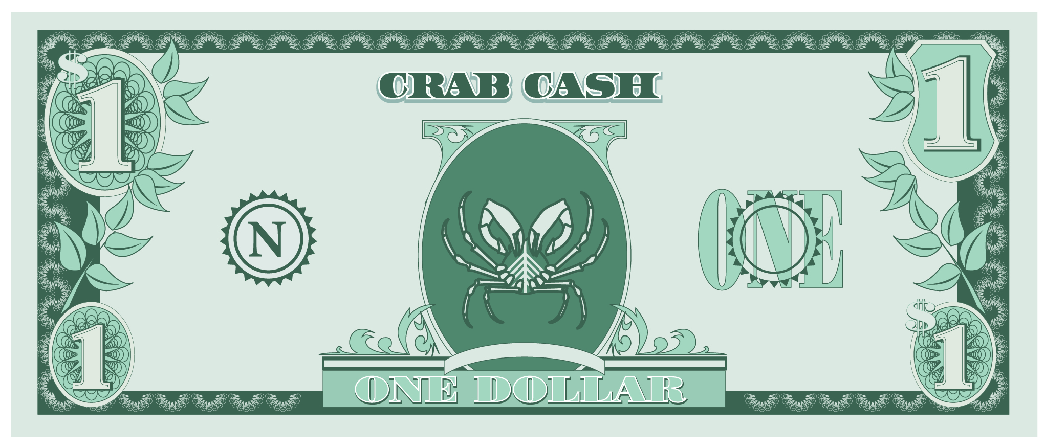 Seaside Scavenge Crab Cash