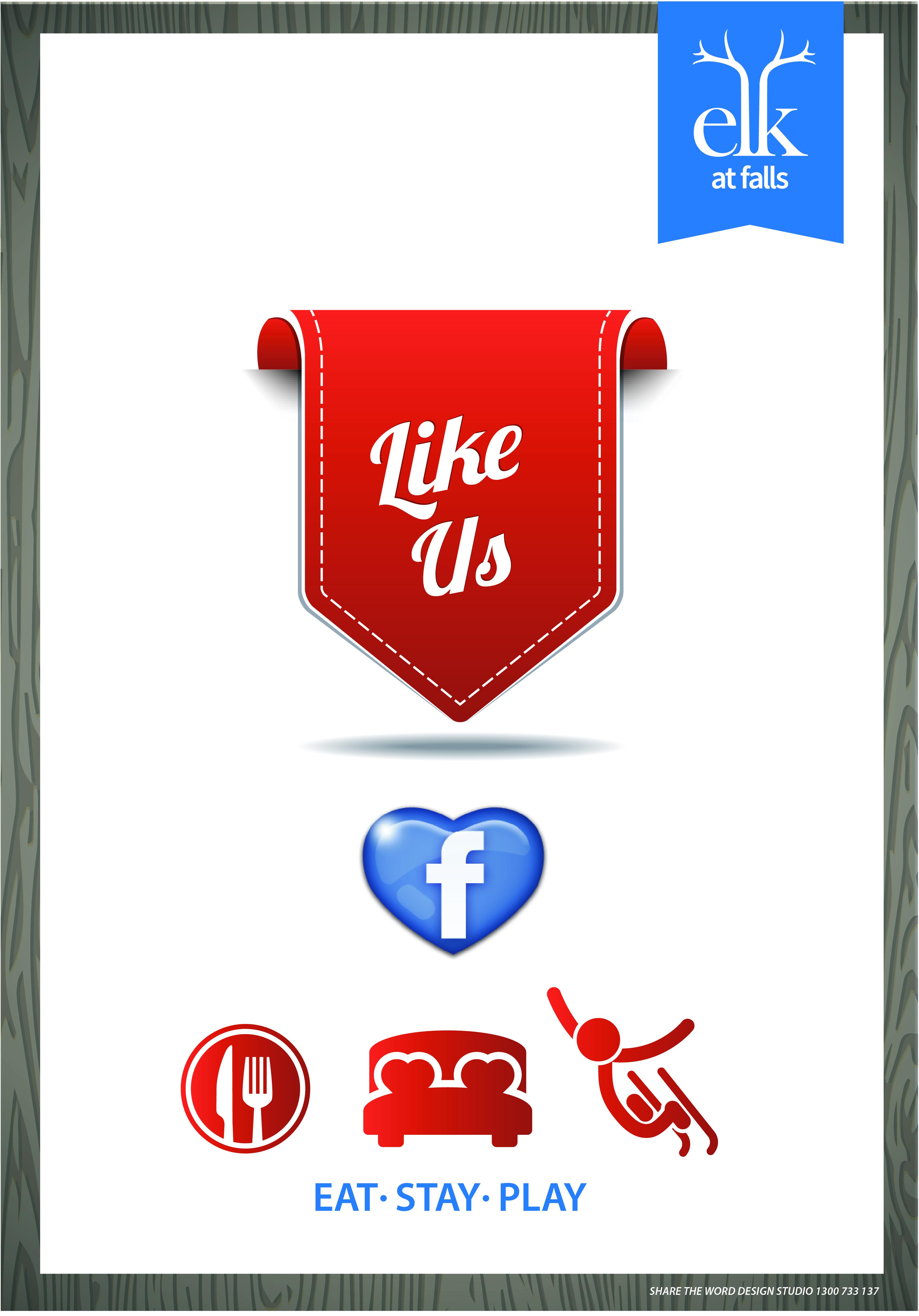 Social Media Elk at Falls