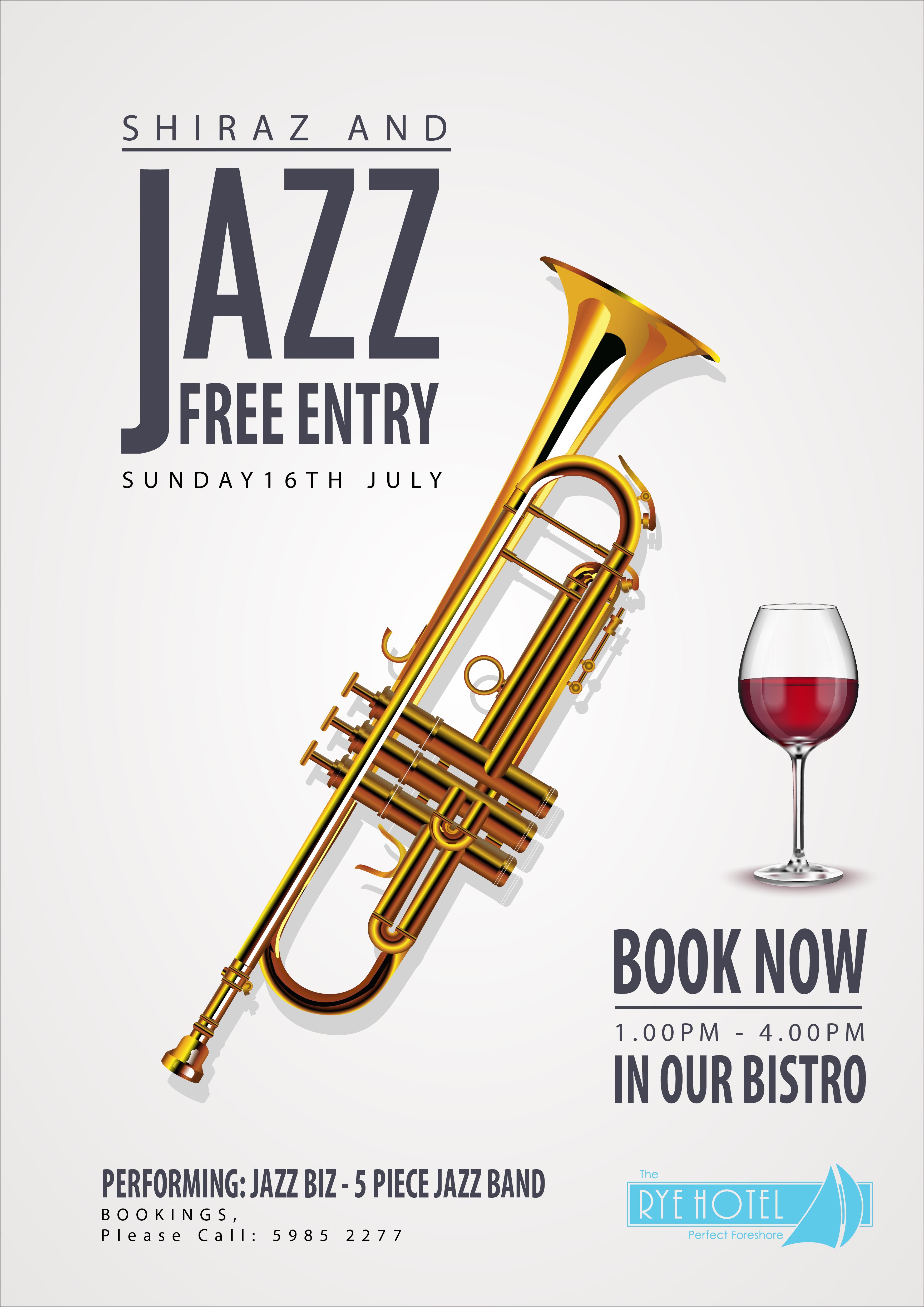Jazz Poster for Rye Hotel